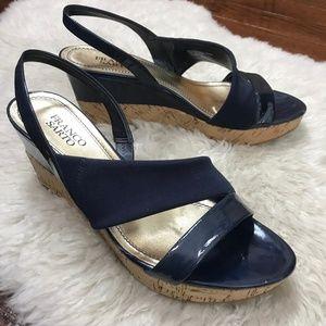 Franco SartoWedges Shoes Sz 9M